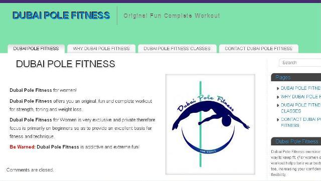 Portfolio - Dubai Pole Fitness