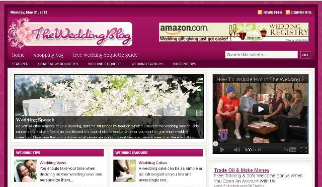 Portfolio - The Wedding Blog