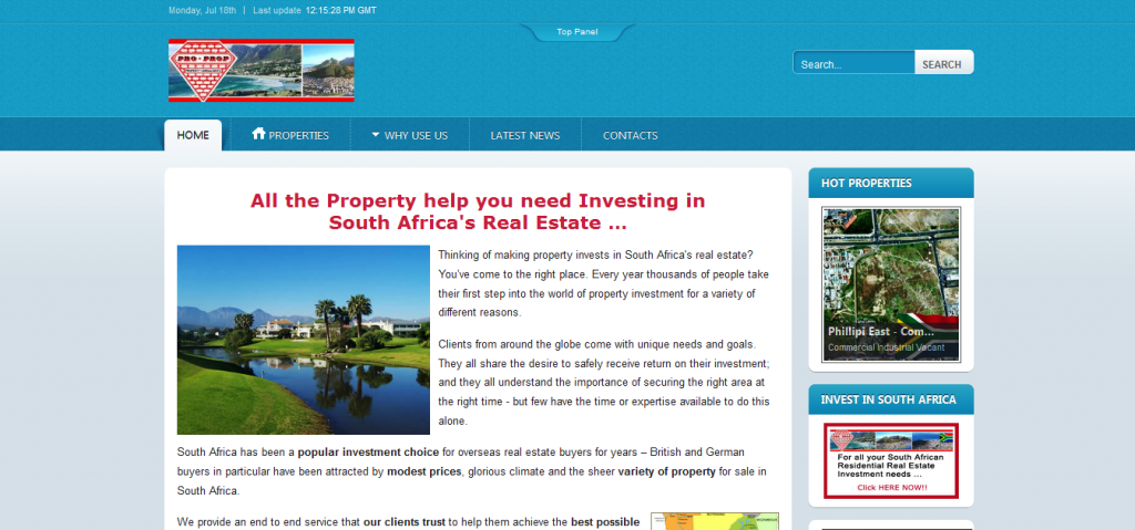 Portfolio - Property In South frica