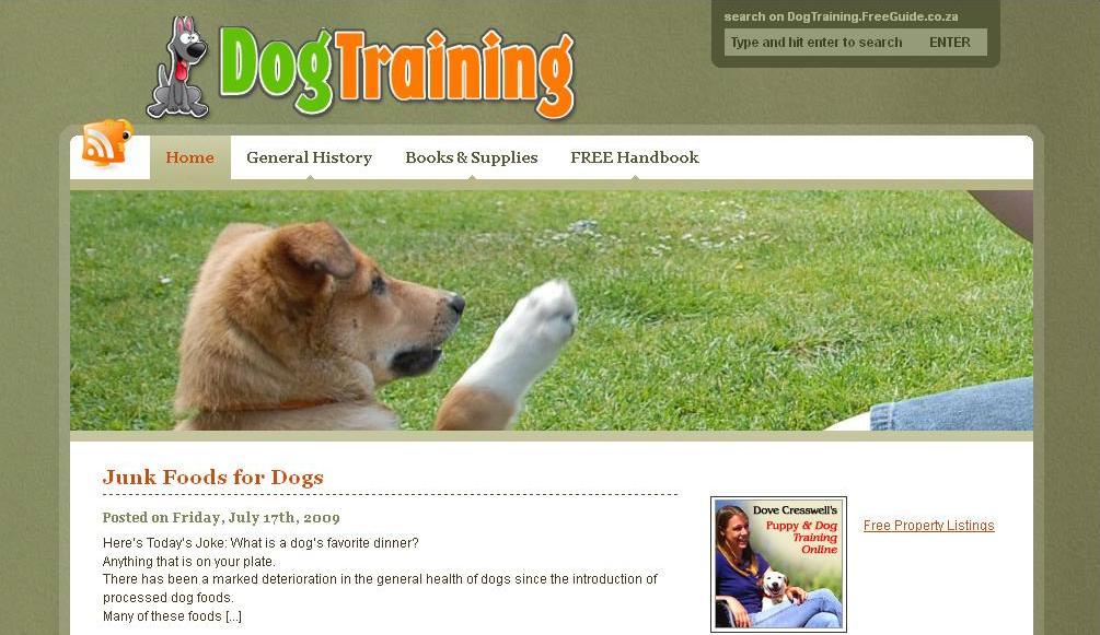 Portfolio - Dog Training